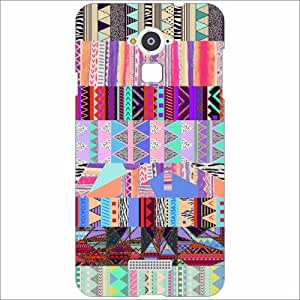 Coolpad Note 3 Back Cover - Silicon Abstract Designer Cases