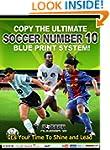 Soccer Number 10 Blue Print Book