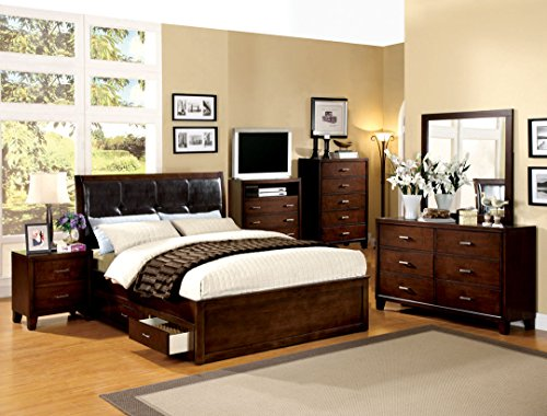 Queen Beds With Drawers 3103 front