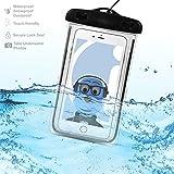 #8: Sony Xperia C4 E5303 E5306 E5353 Black TRANSPARENT Underwater Protection Touch Responsive Dry Bag Case Cover for Sony Xperia C4 E5303 E5306 E5353