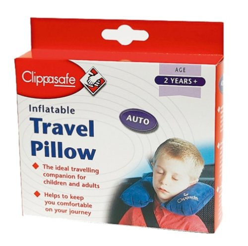Clippasafe Inflatable Travel Pillow