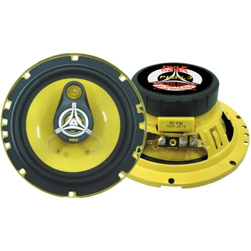 PYLE PLG6.3 6.5-Inch 280 Watt Three-Way Speakers