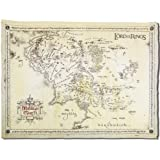 "The Lord of the Rings Poster Parchment map of the middle-earth (26""x18"")"