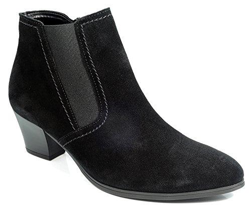Sale-Gabor-Stivaletti da donna-Nero scarpe in taglie forti, nero (nero), 40 EU