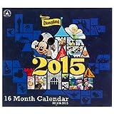 Disneyland Resort 2015 Wall Calendar, 16 Month.