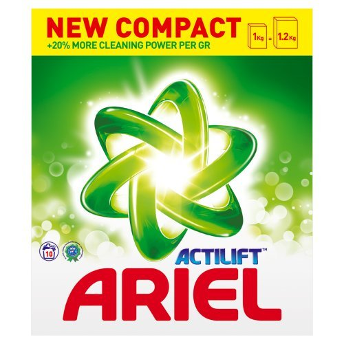 Ariel Actilift Bio Washing Powder, 10 Washes