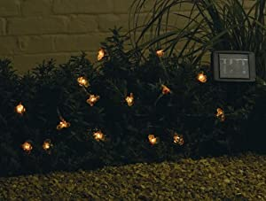 15 Solar Powered Bumble Bee Garden Lights