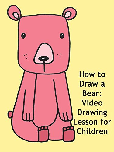 How to Draw a Bear: Video Drawing Lesson for Children