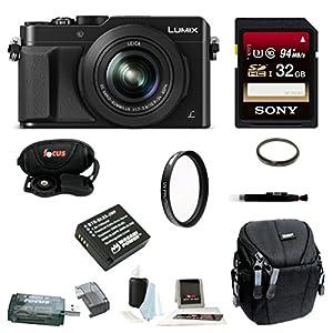 Panasonic LUMIX LX100 4K & Leica Lens (Black)
