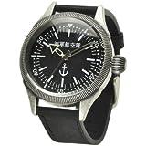 ミリタリーウォッチ メンズ 腕時計 海軍航空隊 復刻モデル コインエッジ 海軍航空隊 レプリカ(復刻)モデル / ブラック