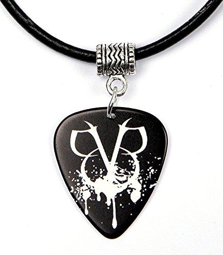 Black Veil Brides BVB Logo Collana con plettro chitarra