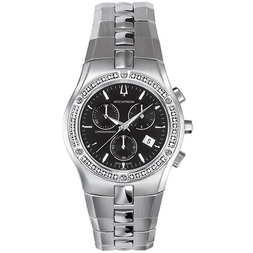Accutron Men's 26E10 Lucerne Diamond Chronograph Watch