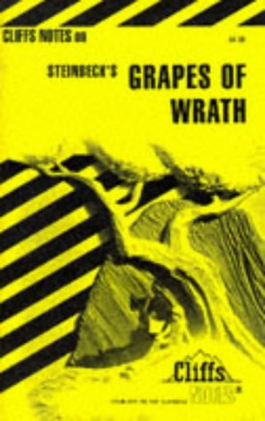 Image for Steinbeck's the Grapes of Wrath (Cliffs Notes)