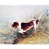 Dog Watching a Rat in the Water at Dedham, by John Constable (Print On Demand)