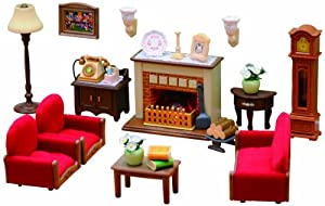 Sylvanian Families Luxury Living Room Set Toys Games