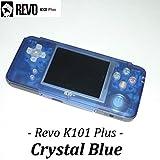 REVO K101 Plus「カラー:クリスタルブルー」GBA互換機本体 / GBAロムカートリッジが使えてAV出力ができる! ゲームボーイアドバンス互換機本体 GAMEBANK-web.comオリジナル[1172] [並行輸入品]
