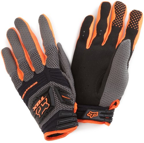Fox Men's Sidewinder Glove, Orange, Medium