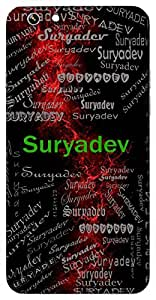 Suryadev (Sun God) Name & Sign Printed All over customize & Personalized!! Protective back cover for your Smart Phone : Samsung Galaxy E-7