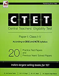 Ctet Practice Test Papers And Solved Papers Class I-V