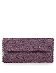 M&S Collection Bugle Bead Embellished Purse