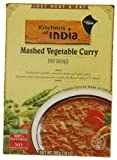 Kitchens Of India Ready To Eat Pav Bhaji, Mashed Vegtable Curry, 10-Ounce Boxes (Pack of 6)