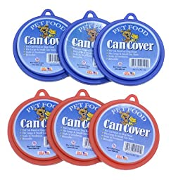 Molor Pet Food Can Covers, Set of 6