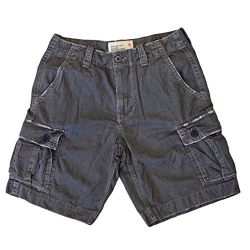 American Eagle Outfitters -  Pantaloncini  - Uomo Grey W30