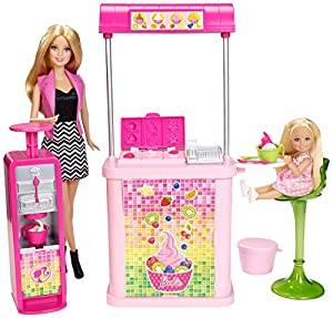 Barbie Malibu Ave. Frozen Yogurt Shop by Barbie