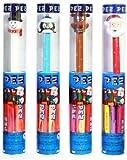 Christmas Pez Dispenser Tubes 4ct.