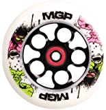 MGP 110-mm End of Days Aero Scooter Wheel-White PU with Black Core