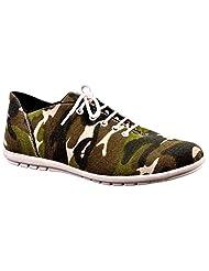 Aureno Men's Suede Sneakers - B011BH7E4A