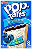 Kellogg's Pop Tarts Frosted Blueberry Toaster Pastries 416 g (Pack of 3)