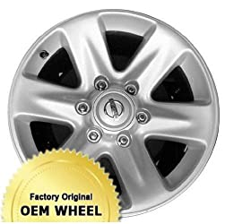 NISSAN PATHFINDER 17X8 6 SPOKE Factory Oem Wheel Rim- SILVER – Remanufactured