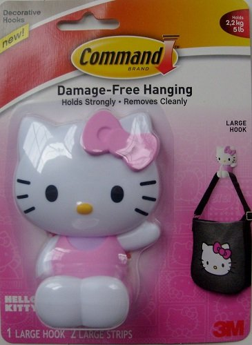 1 X 3M Command Hello Kitty Large Hook - 1