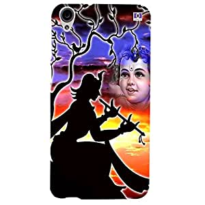 Beautiful Krishna - Mobile Back Case Cover For HTC Desire 820