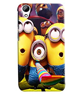 Omnam Minion Printed Back Cover Case For HTC Desire 626