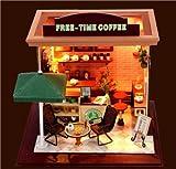 Amazon.co.jpCOM★MI-STBA◆ドール ハウス ドール ハウス オープン カフェ 手作り 自分のカフェ作る