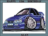191 - FORD SIERRA SAPPHIRE COSWORTH BLUE KOOLART (0191) PERSONALISED 10