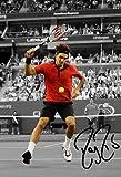 Roger Federer Signed A4 Autographed Poster Photo