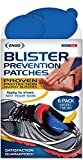 ENGO Oval Blister Prevention Patches (6 Patches). For Runners, Foot Pain, High Heels, Tennis Shoes, Athletes