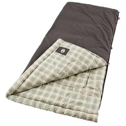 Coleman Heritage Big And Tall Sleeping Bag (Brown)