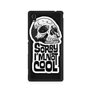 Ebby I am not Cool Premium Printed Case For Sony Xperia M4