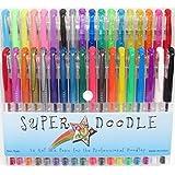 Super Doodle Gel Pens - 36 Color Premium Gel Pen Set