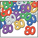 Fanci-Fetti 80 Silhouettes (multi-color) Party Accessory  (1 count) (.5 Oz/Pkg)