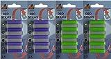 Deosticks - Fragrance Sticks (Set of 20) - 2 Varieties: Flower / Lavender - For Vacuum Cleaners / Fragrance Cartridges / Room Fresheners