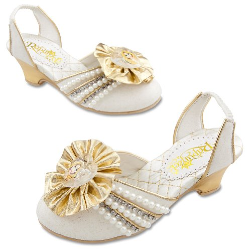 Disney Store Tangled Princess Rapunzel Wedding Bride Bridal Shoes (Size 9/10) front-973436