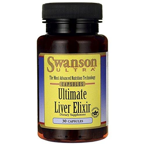 Swanson Ultimate Liver Elixir 30 Caps (Swanson Liquid Liver Extract compare prices)