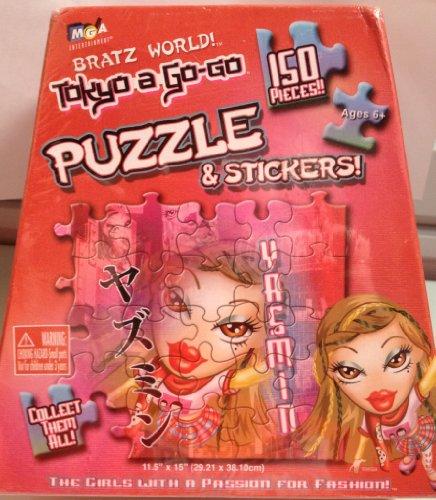 Bratz World Tokyo-A-Go-Go Giant Puzzle - 1
