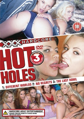 XXX Hardcore: Hot Holes (3 Film Set) [DVD]