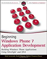 Beginning Windows Phone 7 Application Development Front Cover